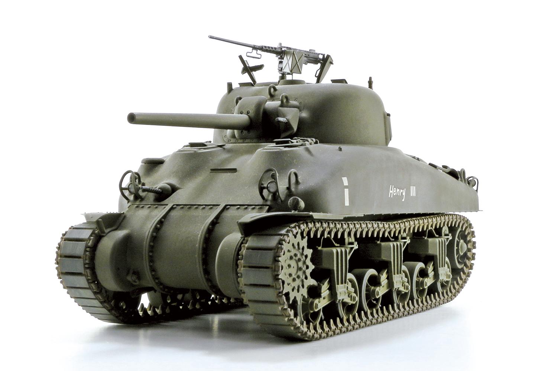 1//35 Medium Tank M4A1 Sherman Asuka Model 35010 U.S Mid Production